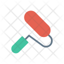 Roller Decorate Paint Icon