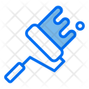 Roller Paint Tools Icon