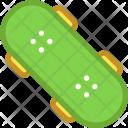 Roller Skates Skateboard Icon