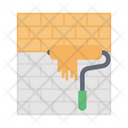 Roller Paint Construction Icon