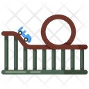 Roller Coaster Amusement Park Amusement Ride Icon