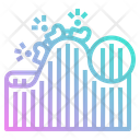 Roller Coaster Fair Icon