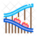 Roller Coaster Ride Icon