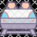 Roller Coaster Coaster Slide Coaster Icon