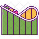 Roller Coaster Amusemnet Park Ride Icon