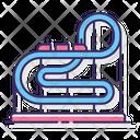 Roller Coaster Theme Park Amusement Park Icon