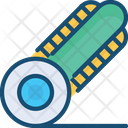 Roller Cutter Equipment Tool Icon