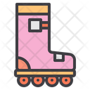 Roller Skate Skating Shoes Roller Skating Icon