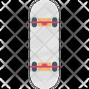Roller Skates Skateboard Skateboarding Icon