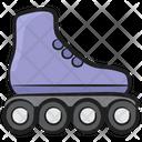 Skates Roller Skates Skate Shoe Icon