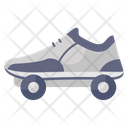 Roller Skates Skates Skate Shoe Icon