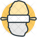 Rolling Pin Bread Icon