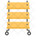 Rolling Cart Icon