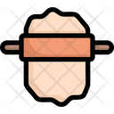 Rolling Dough Icon