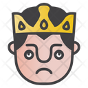 Rolling Eyes King Icon