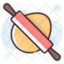 Rolling Pin Dough Roller Kitchen Accessories Icon