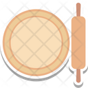 Rolling Pin Dough Roller Kitchen Tool Icon