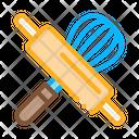 Rolling Pin Manual Icon
