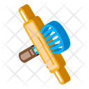 Rolling Pin And Beater Icon