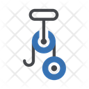 Gear Machine Processing Icon