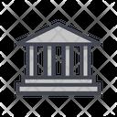 Roman Bank Icon
