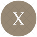 Roman Letter Number Icon