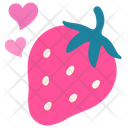 Romance Love Fruit Icon