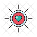 Love Heart Romance Icon