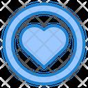 Romance Botton Valentine Icon