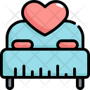 Bed Wedding Marriage Icon