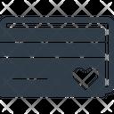 Romance Card Loving Card Greeting Card Icon