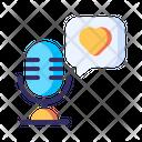 Podcast Radio Microphone Icon