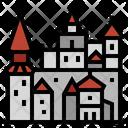 Romania Bran Castle Dracula Castle Icon
