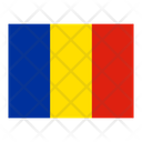 Romania Flag Flags Icon