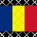 Flag Country Romania Icon