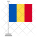 Romania Country National Icon