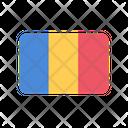 Romania Flag Country Icon