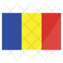 Romania Chad International Icon