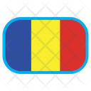 Romania Chad Country Icon