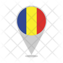 Chad Country Flag Icon