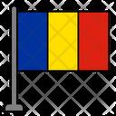 Romania Country Flag Flag Icon