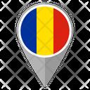 Romania Country Location Location Icon