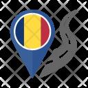 Romania Flag Icon