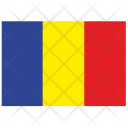 Romania Country Flag Icon