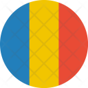 Romania Flag World Icon