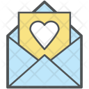 Romantic Email Love Icon