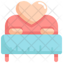 Romantic Bed Icon