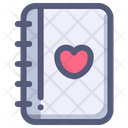 Wedding Love Contact Icon