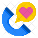 Romantic Call Phone Call Icon