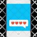 Romantic Chat Talk Icon